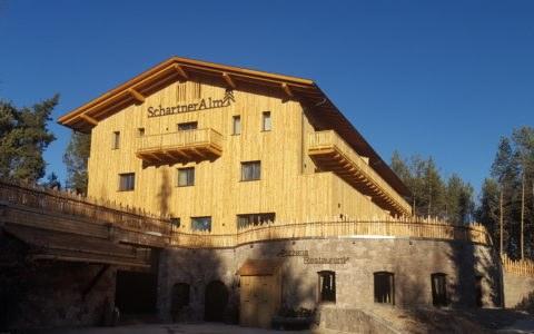 Neubau Schartneralm - Klobenstein 2019