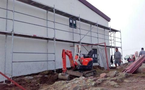 Sanierung Ober-Horn-Haus Feb. 2017